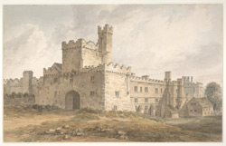 Haddon Hall, Derbyshire f.23